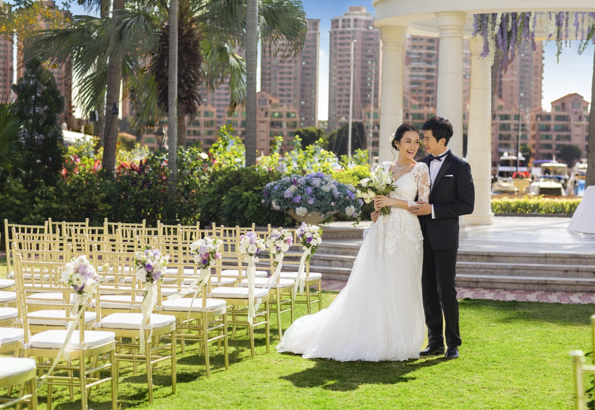 Hong Kong Gold Coast Hotel Wedding